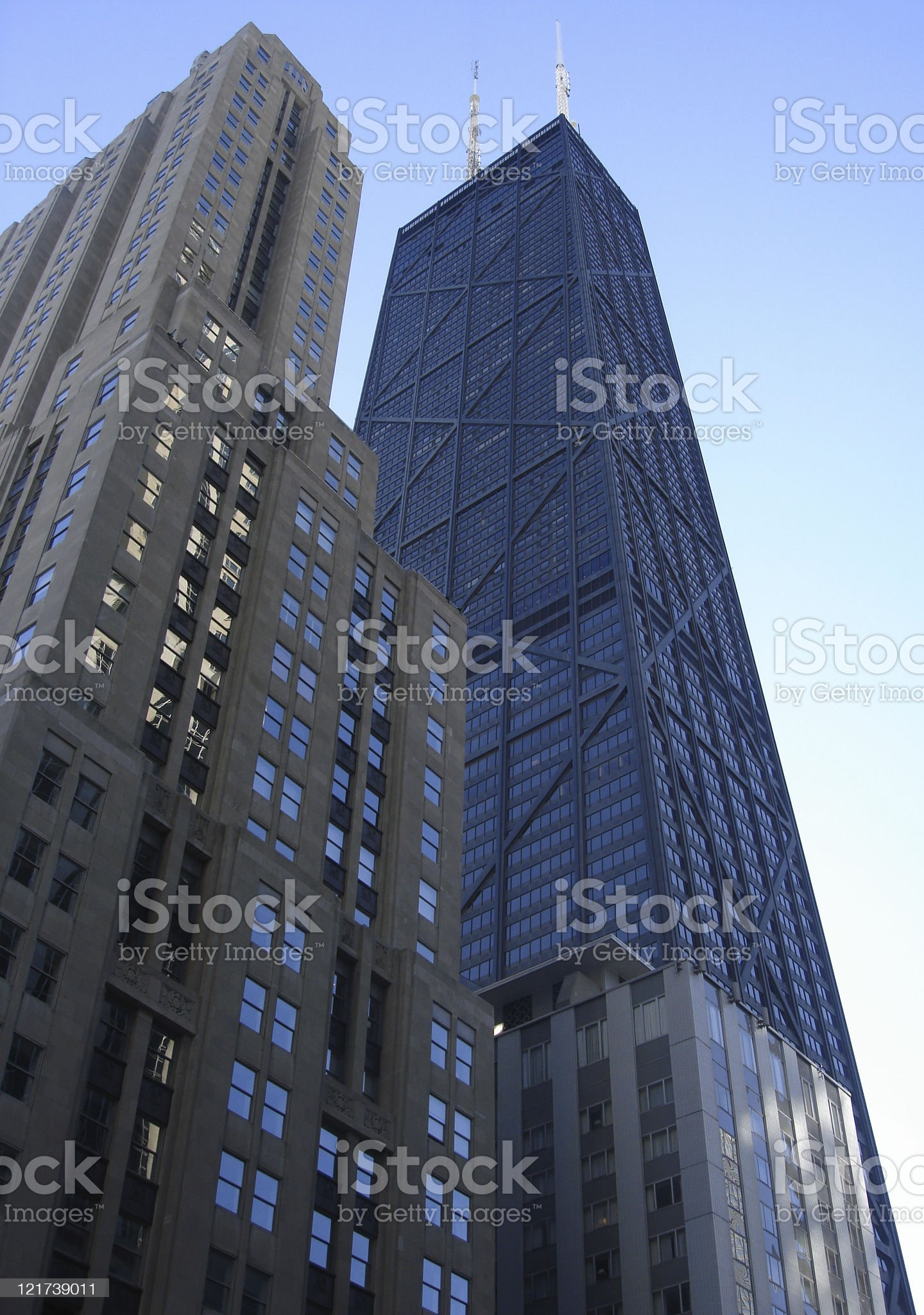 Chicago building royalty-free stock photo