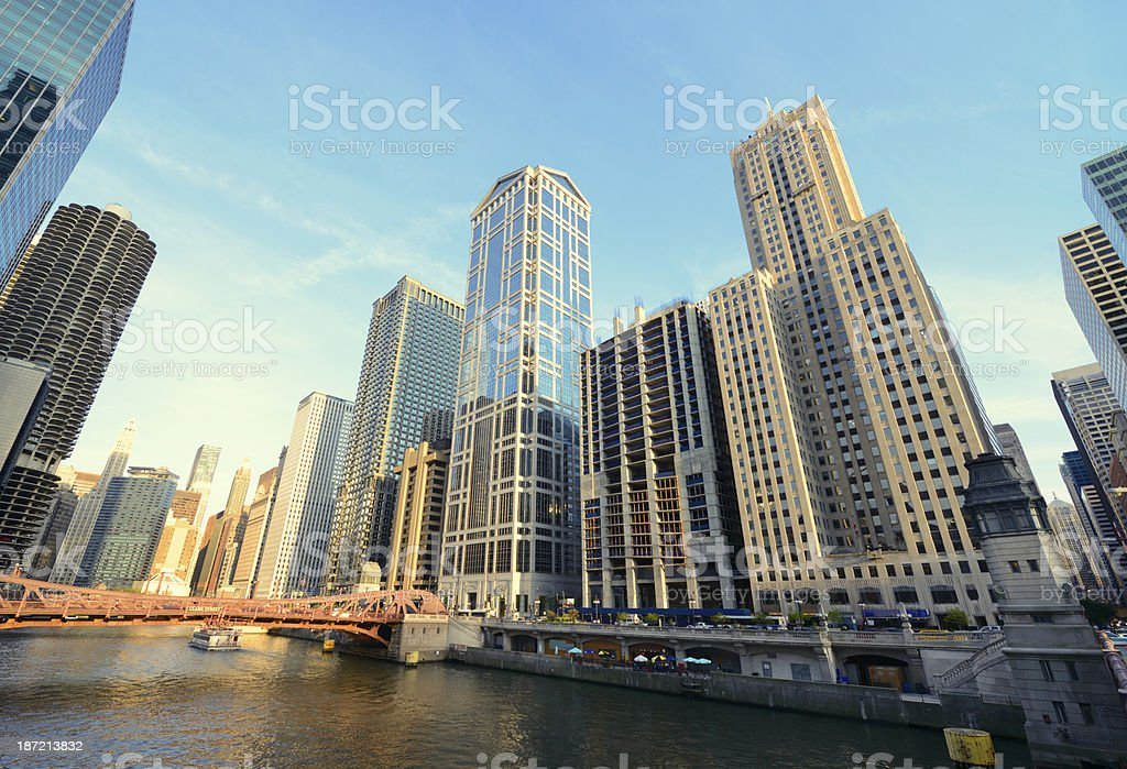 Chicago Cityscape royalty-free stock photo
