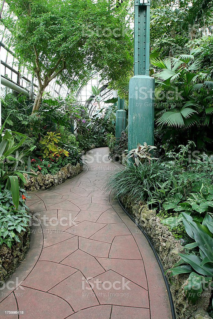 Chicago Conservatory stock photo