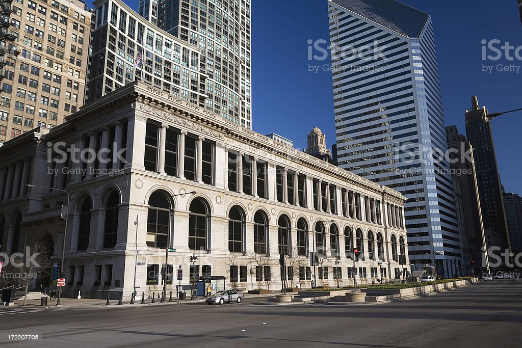 Chicago Cultural Center royalty-free stock photo