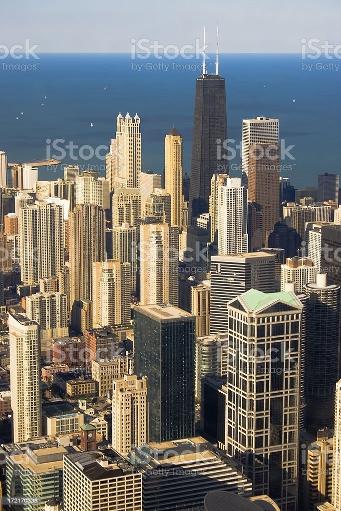 Chicago Downtown Skyline stock photo