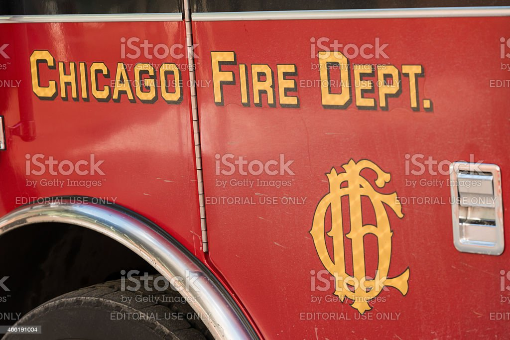 Chicago Fire Department stock photo