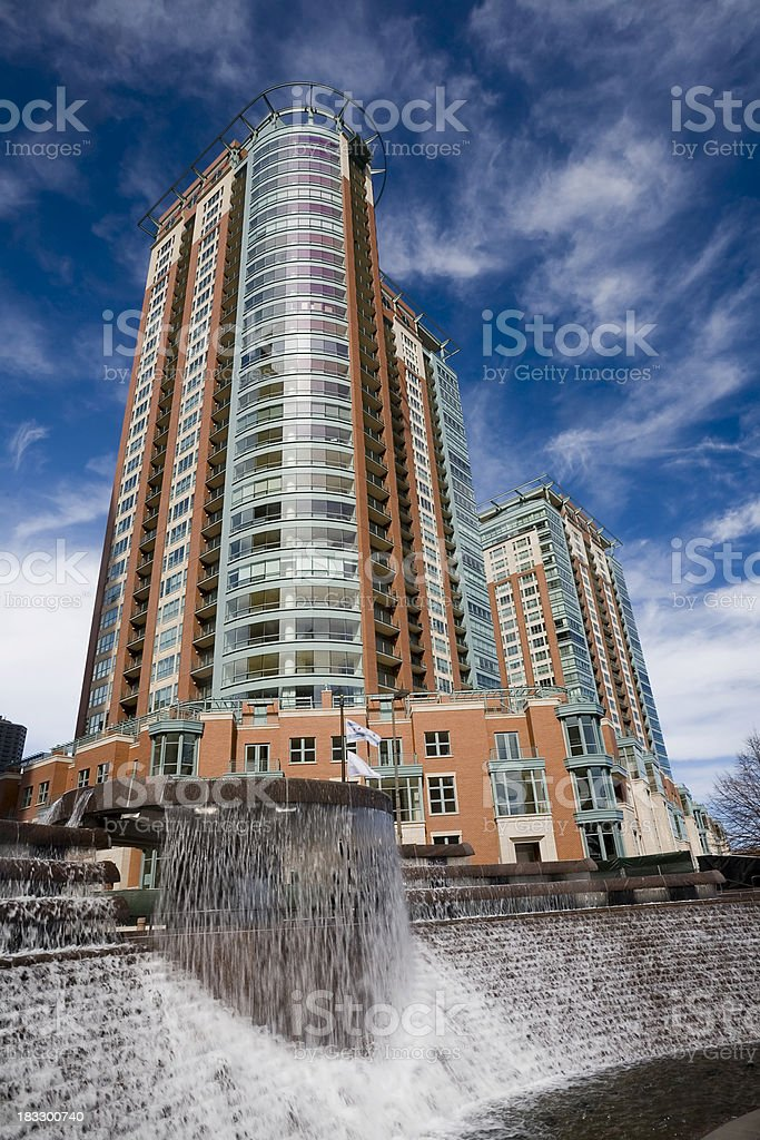 Chicago Highrise stock photo