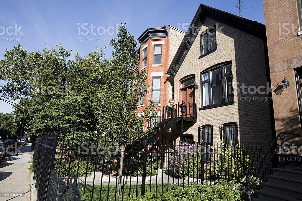 Chicago Housing stock photo