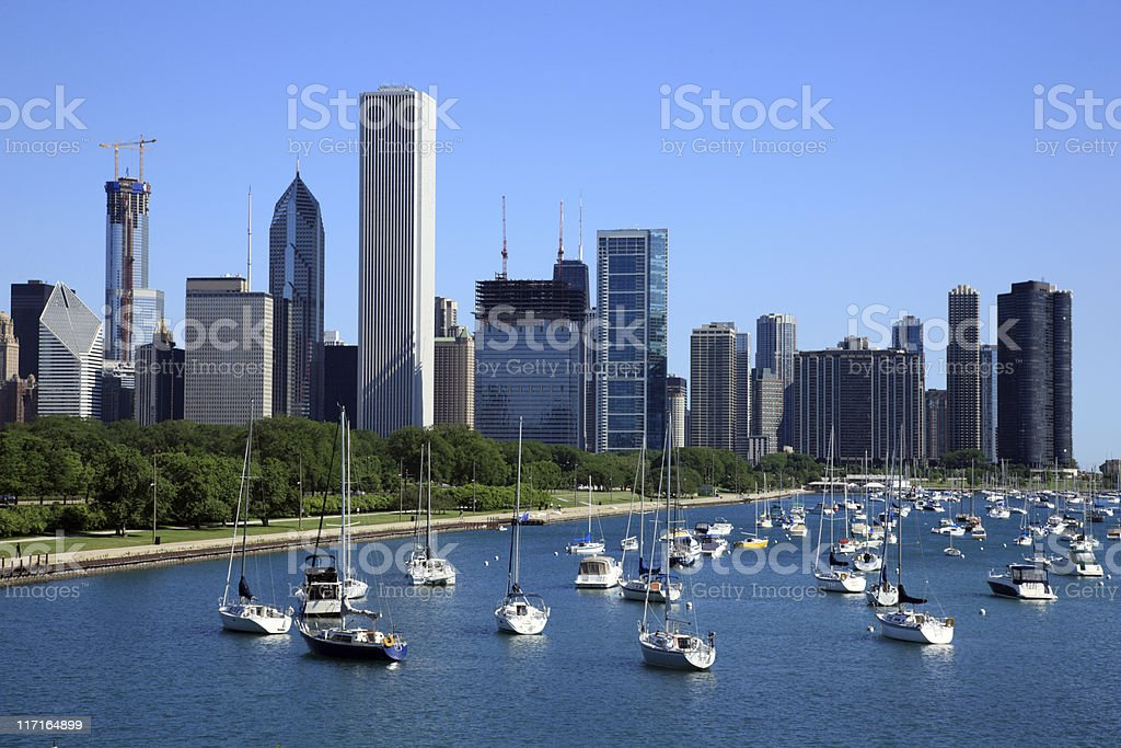 CHicago, IL royalty-free stock photo