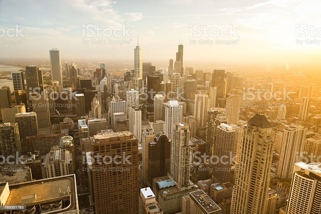 Chicago Illinois USA stock photo