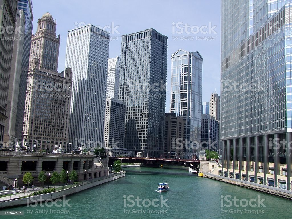 Chicago, Illinois, USA stock photo