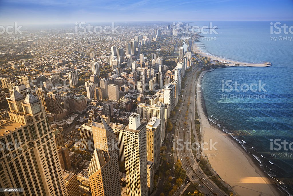 Chicago Illinois USA stock photo