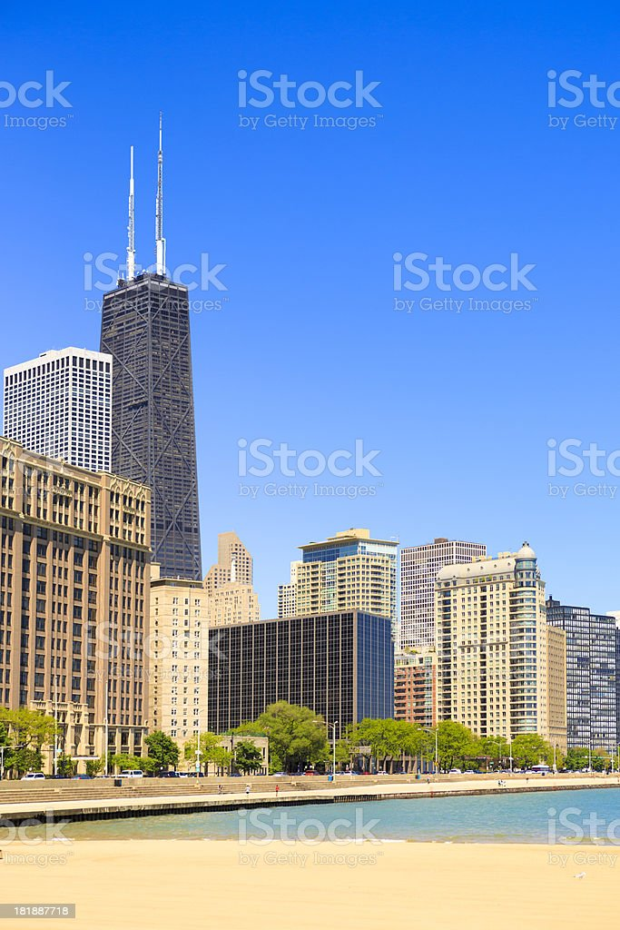 Chicago Lakeshore royalty-free stock photo