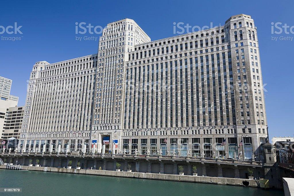 Chicago Landmark. Merchandise Mart royalty-free stock photo