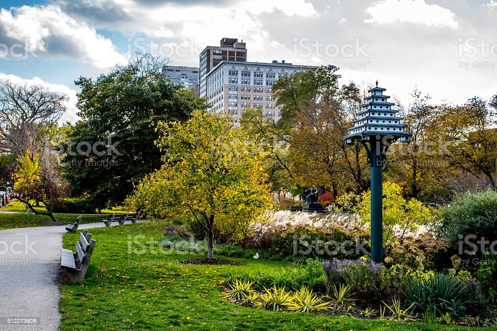 Chicago Lincoln Park stock photo