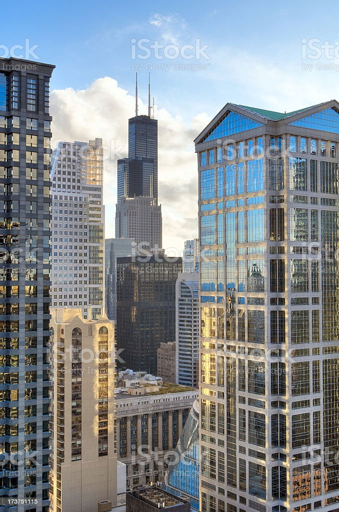 Chicago Loop royalty-free stock photo