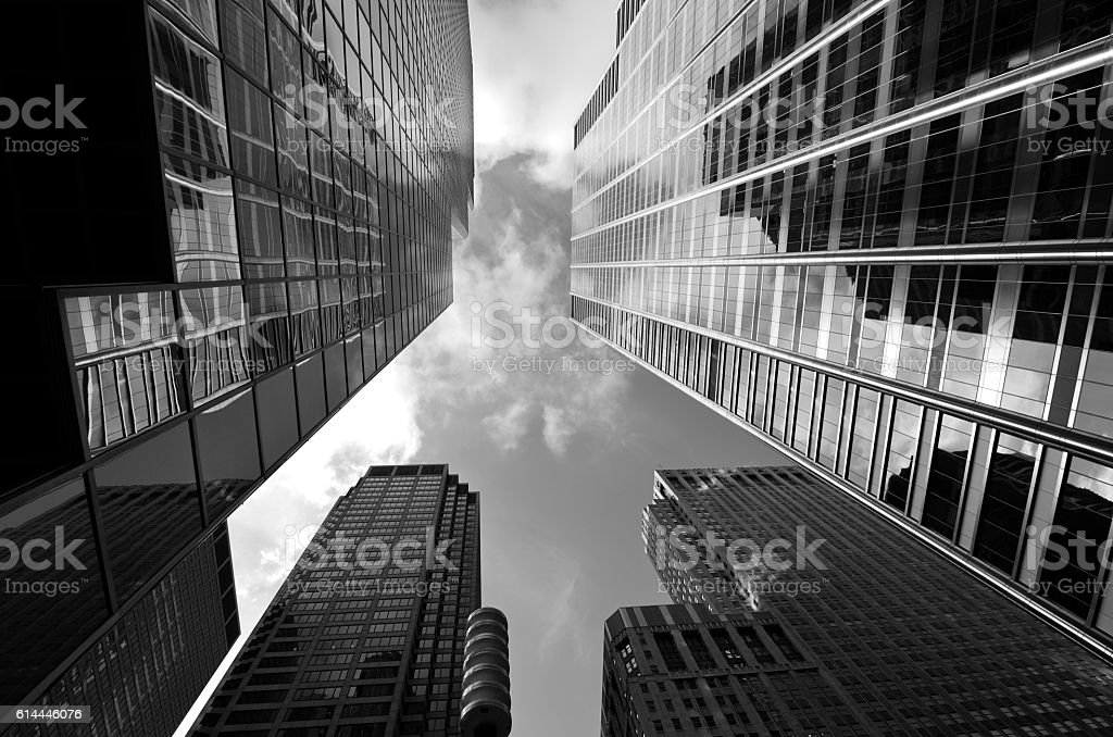 Chicago Loop stock photo