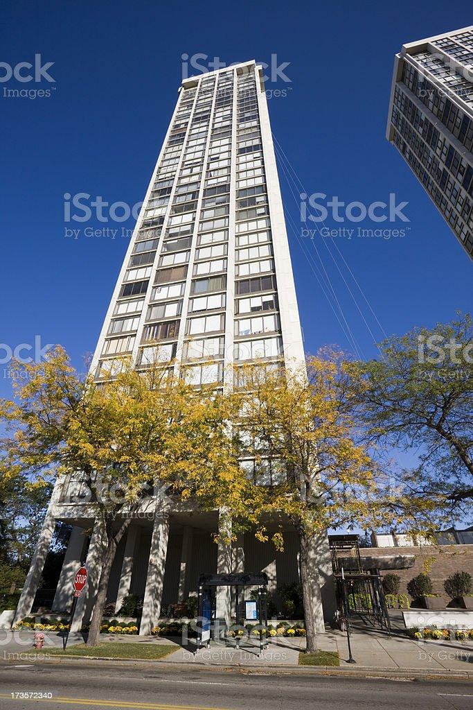 Chicago North Shore Apartments stock photo