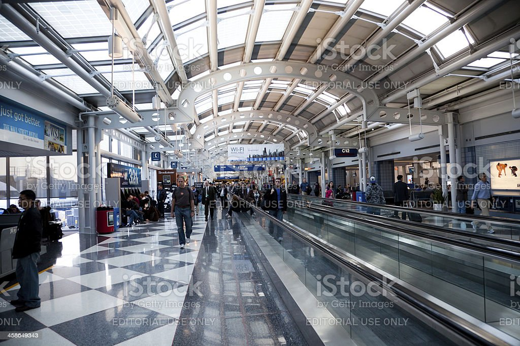 Chicago O'Hare International Airport royalty-free stock photo