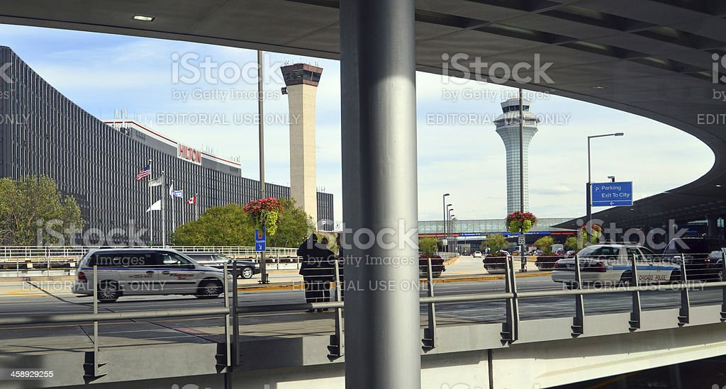 Chicago O'Hare International Airport stock photo
