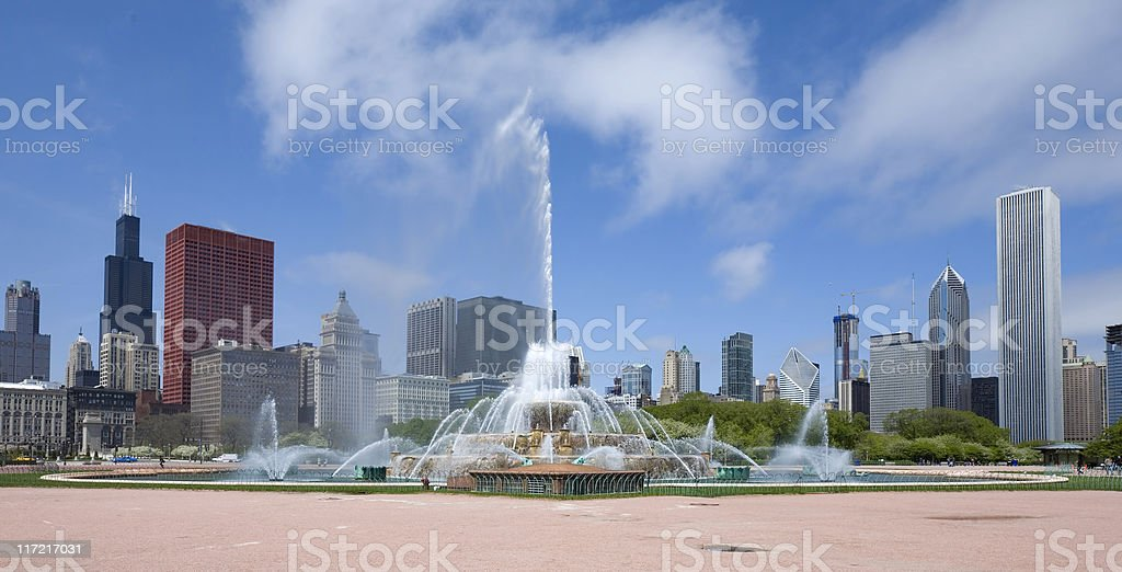 Chicago Panorama stock photo