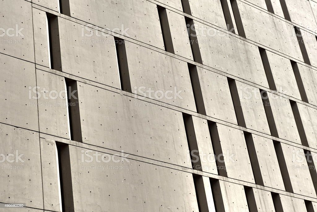 Chicago- Prison, Metropolitan Correctional Center, architecture stock photo