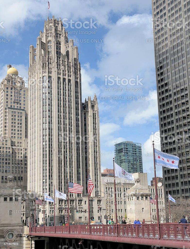 Chicago Riverwalk royalty-free stock photo