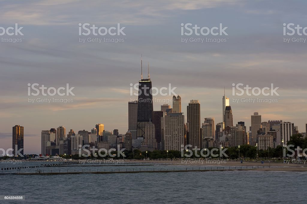 Chicago Sky stock photo