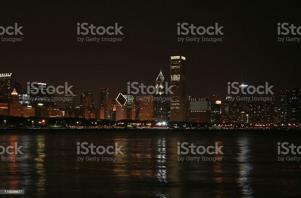 chicago skyline #5 stock photo