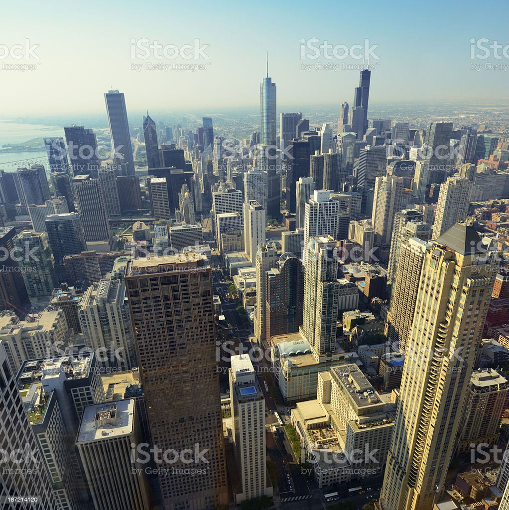 Chicago Skyline royalty-free stock photo