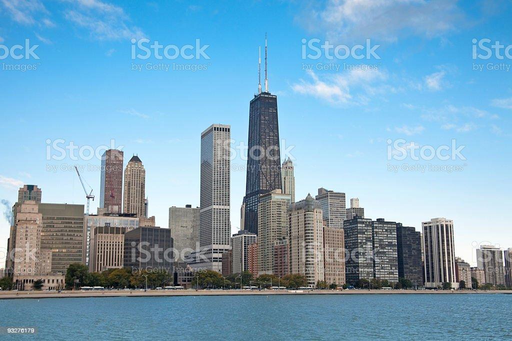 Chicago Skyline royalty-free stock photo