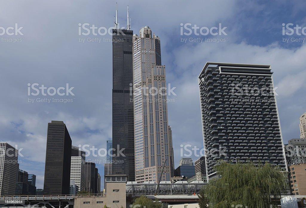 Chicago Skyline Series royalty-free stock photo