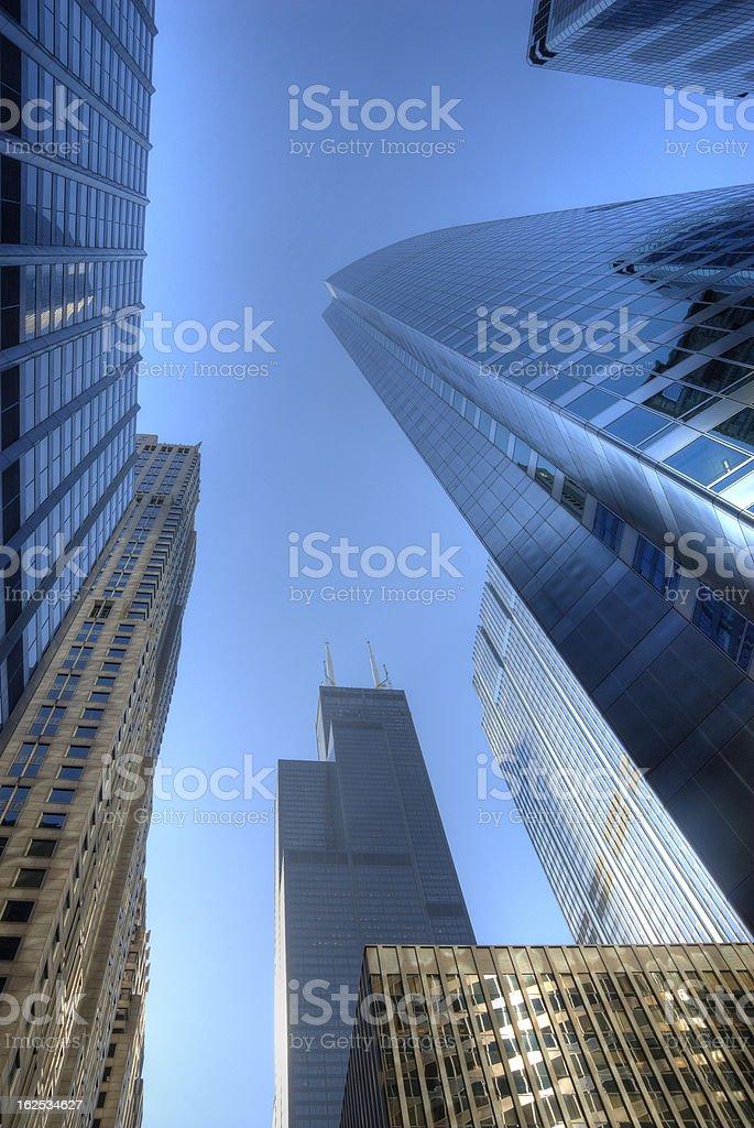 Chicago Skyline Skyscraper stock photo