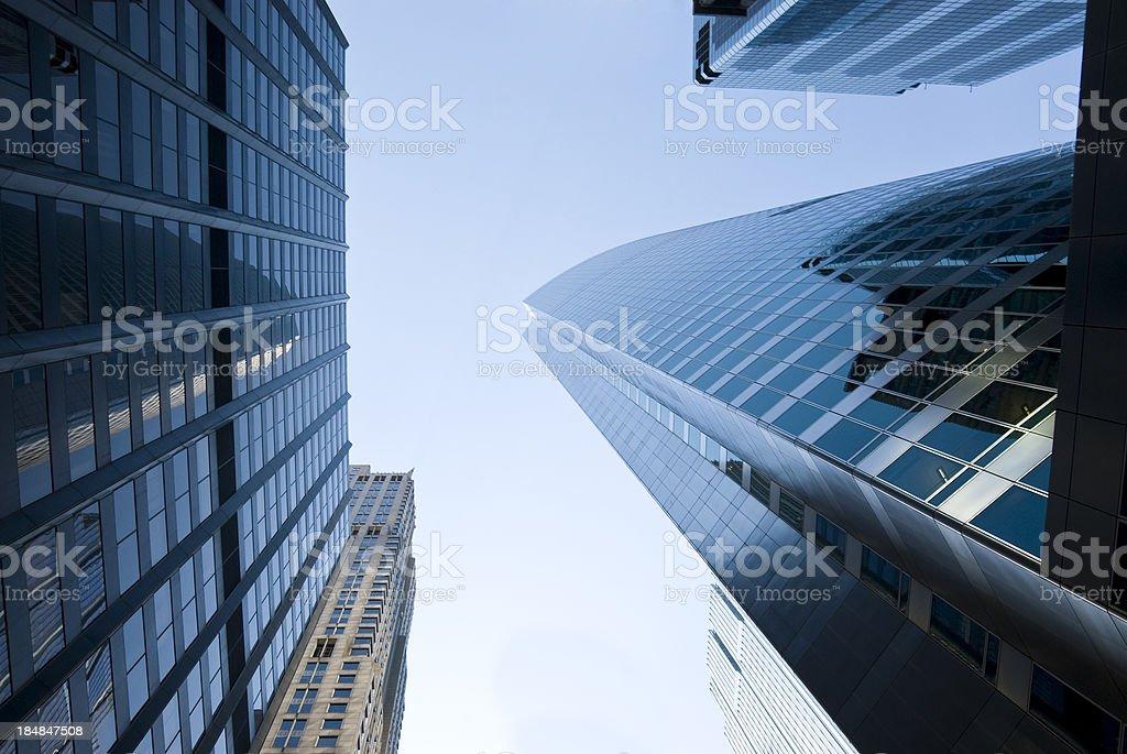 Chicago Skyline Skyscraper royalty-free stock photo