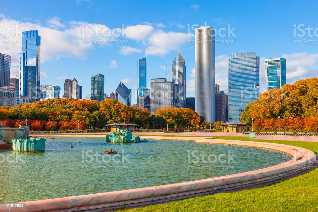 Chicago Skyline,IL stock photo