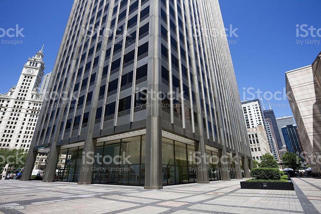 Chicago Skyscraper Base stock photo