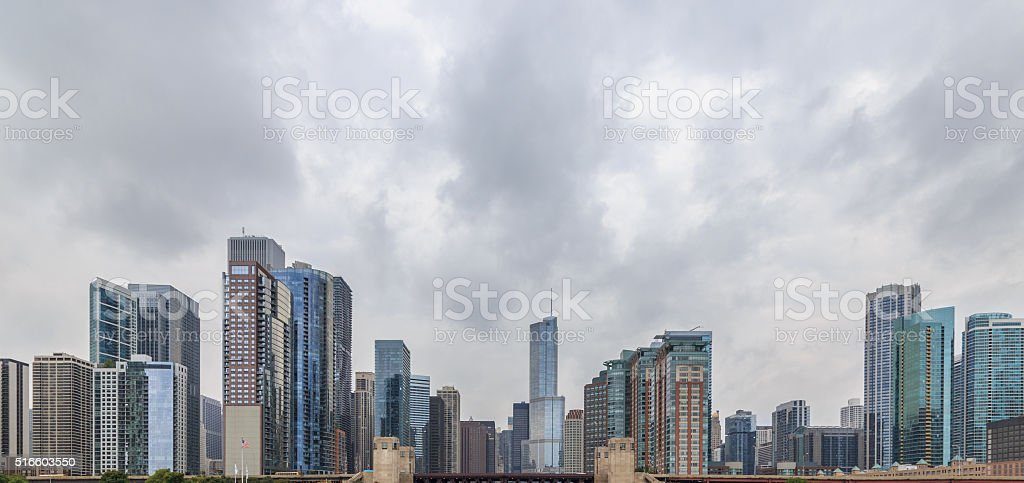 Chicago Skyscraper Cityscape stock photo