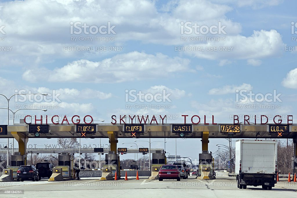 Chicago Skyway stock photo