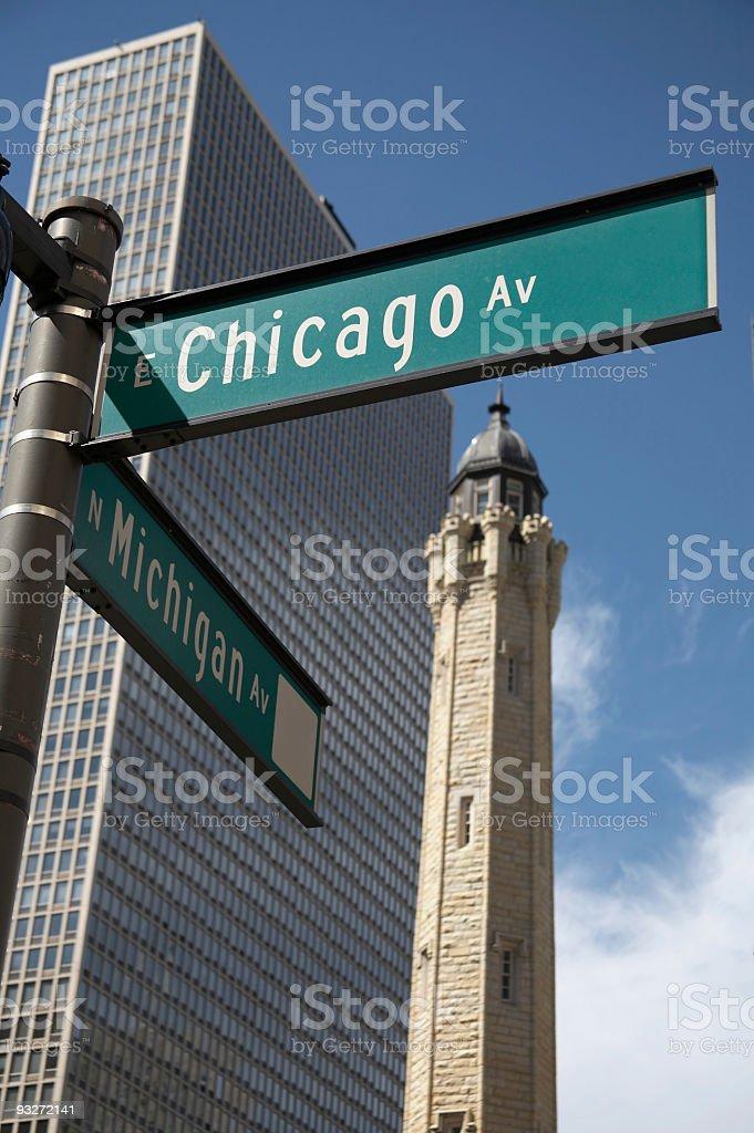Chicago Street royalty-free stock photo