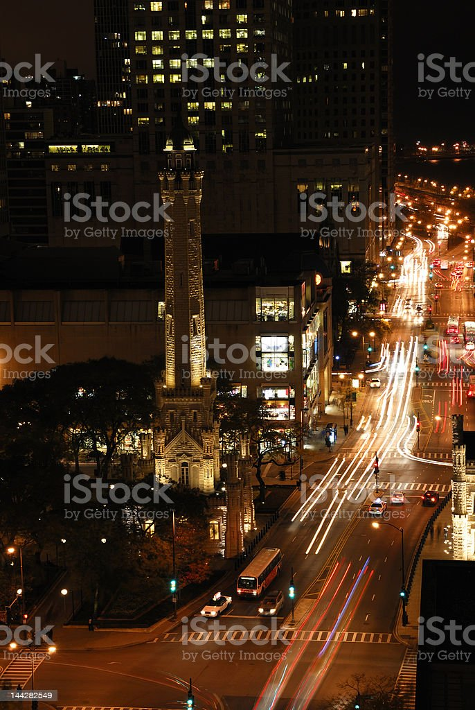 Chicago Streets royalty-free stock photo