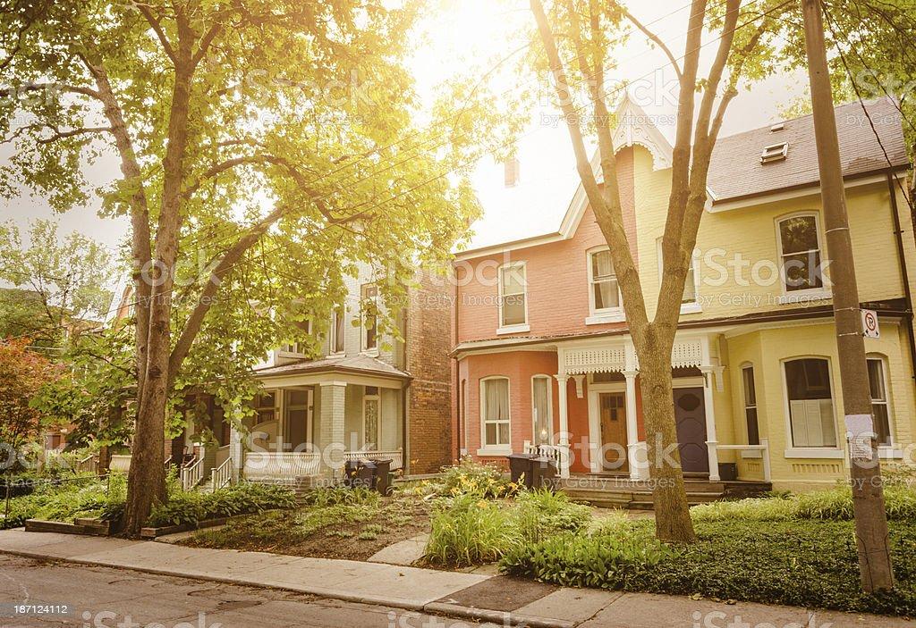 chicago suburb area royalty-free stock photo