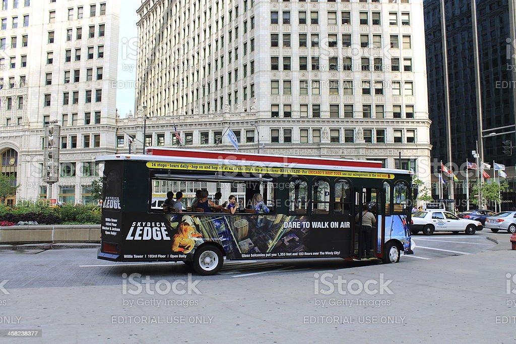 Chicago Tourism royalty-free stock photo