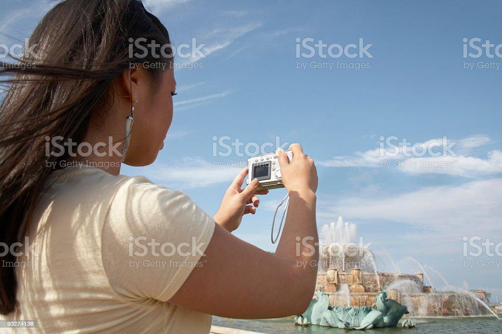 Chicago Tourist royalty-free stock photo