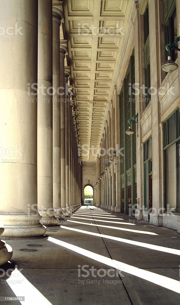 Chicago Train Station stock photo