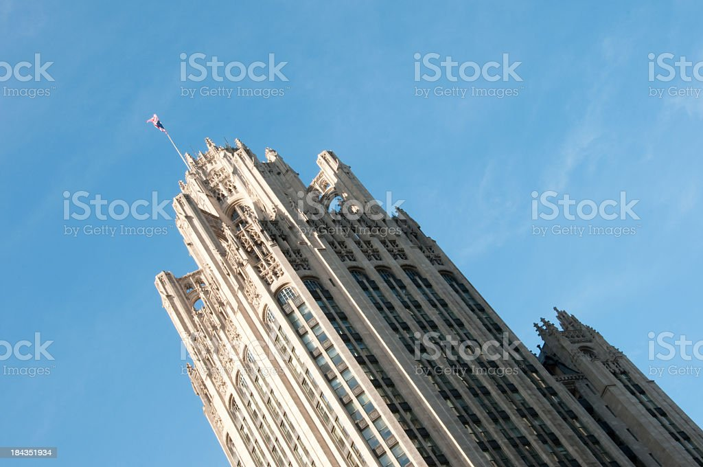 Chicago Tribune Tower royalty-free stock photo