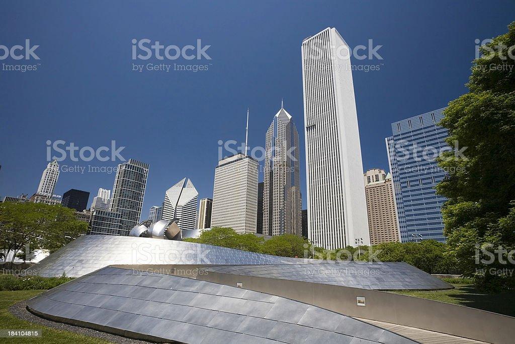 Chicago View stock photo
