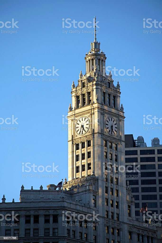 Chicago - Wrigley Buidling royalty-free stock photo