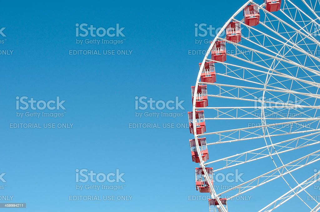 Chicago's Navy Pier stock photo