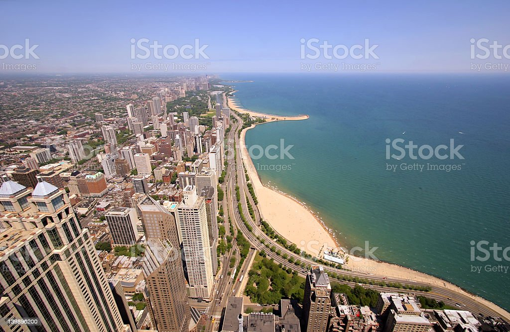 Chicago's Gold Coast stock photo
