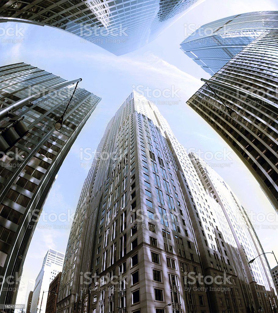 Chicago-X royalty-free stock photo
