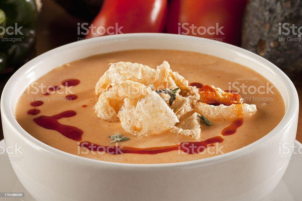 Chicharron Soup stock photo