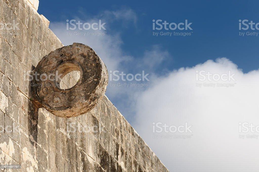Chichen Itza Maya ruins in Mexico stock photo