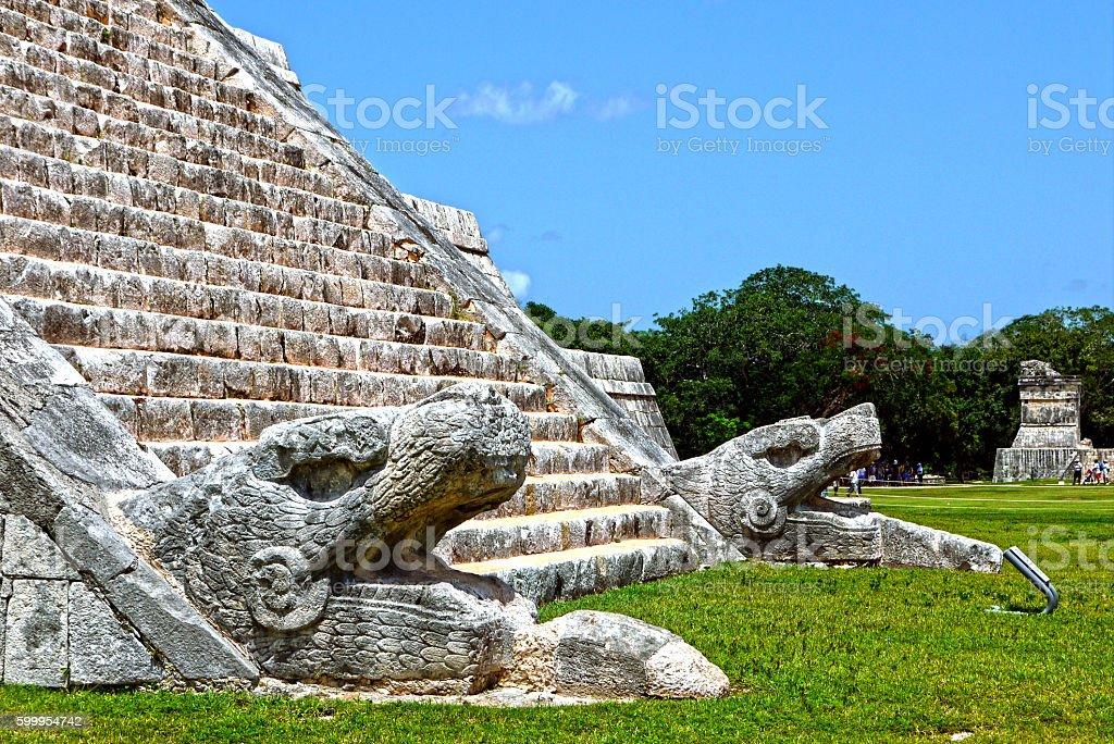 Chichen Itza. MEXICO. stock photo