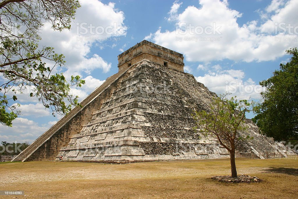 Chichen Itza royalty-free stock photo